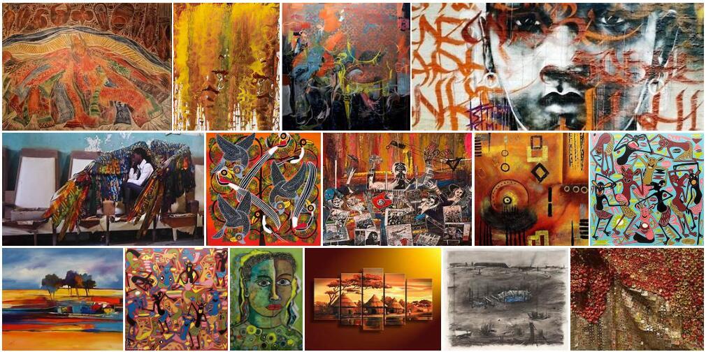 Africa Modern art streams
