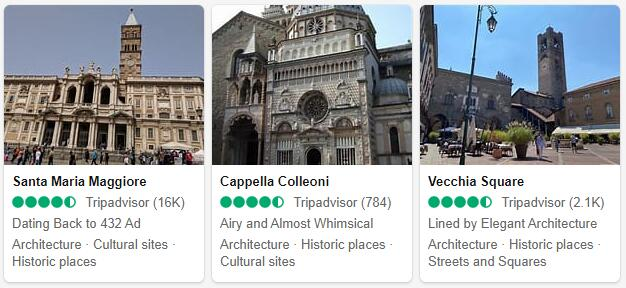 Bergamo Attractions