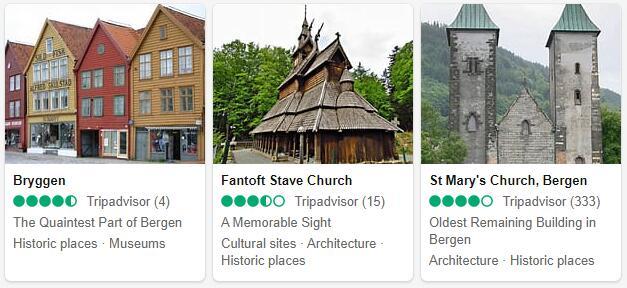 Bergen Attractions