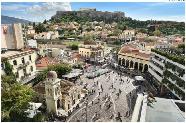 Athens is an atmospheric and historic city holiday destination