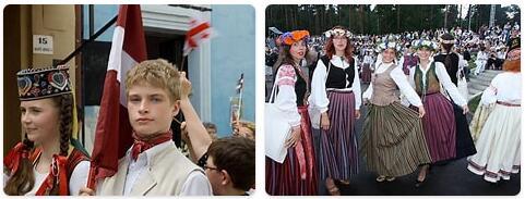 Latvia People