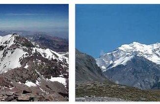 The Cerro Aconcagua in Argentina